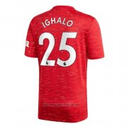 Camisola Manchester United Jogador Ighalo 1º 2020-2021