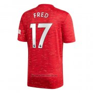 Camisola Manchester United Jogador Fred 1º 2020-2021